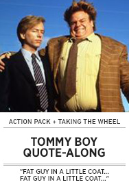 Poster: TOMMY BOY Quote-Along - 2015 upload