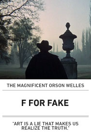 Poster: F FOR FAKE