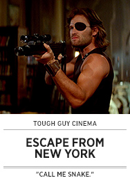Poster: Tough Guy Cinema ESCAPE FROM NEW YORK - 2015 upload