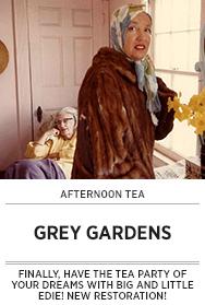 Poster: Afternoon Tea GREY GARDENS - 2015 upload