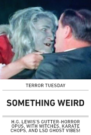Poster: SOMETHING WEIRD