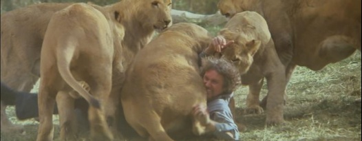 CBS interview: Real animals, real bites, real blood in Roar