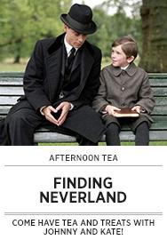 Poster: Afternoon Tea FINDING NEVERLAND - 2015 upload