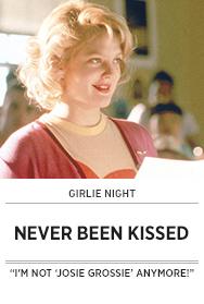 Poster: Girlie Night NEVER BEEN KISSED - 2015 upload