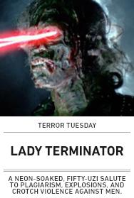 Poster: LADY TERMINATOR