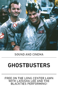 Poster: GHOSTBUSTERS (2015 Sound and Cinema)