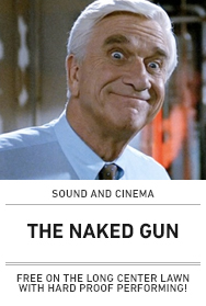 Poster: THE NAKED GUN (2015 Sound and Cinema)