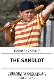 Poster: SANDLOT (2015 Sound and Cinema)