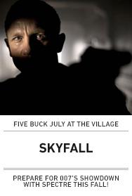 Poster: SKYFALL (2015 $5 Austin)