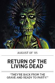 Poster: August of 85 - RETURN OF THE LIVING DEAD - 2015 upload