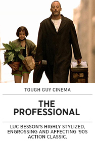 Poster: Tough Guy Cinema THE PROFESSIONAL - 2015 upload