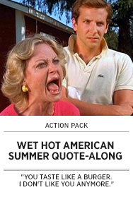 Poster: WET HOT AMERICAN SUMMER QAL - 2015 upload