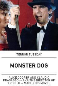 Poster: MONSTER DOG