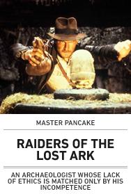Poster: MANCAKE RAIDERS