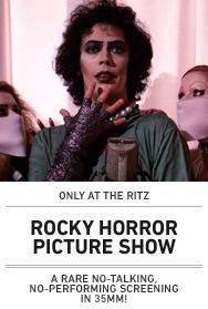 Poster: ROCKY HORROR ritz