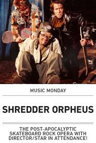 Poster: SHREDDER ORPHEUS